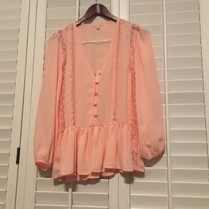 GB Light Pink Blouse